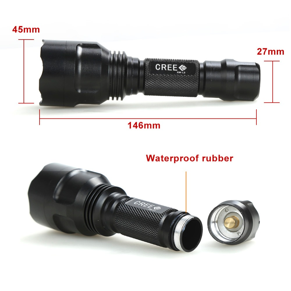 cheapest UltraFire Outdoor UF-T20 Cree IR 850nm 940nm Remote control switch Luz Night Vision Zoomable LED Flashlight Light Hunting Torch