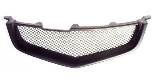 Grille de calandre en fiber de verre non peinte pour 2009-2012 Acura TSX 2010 2011 Type B