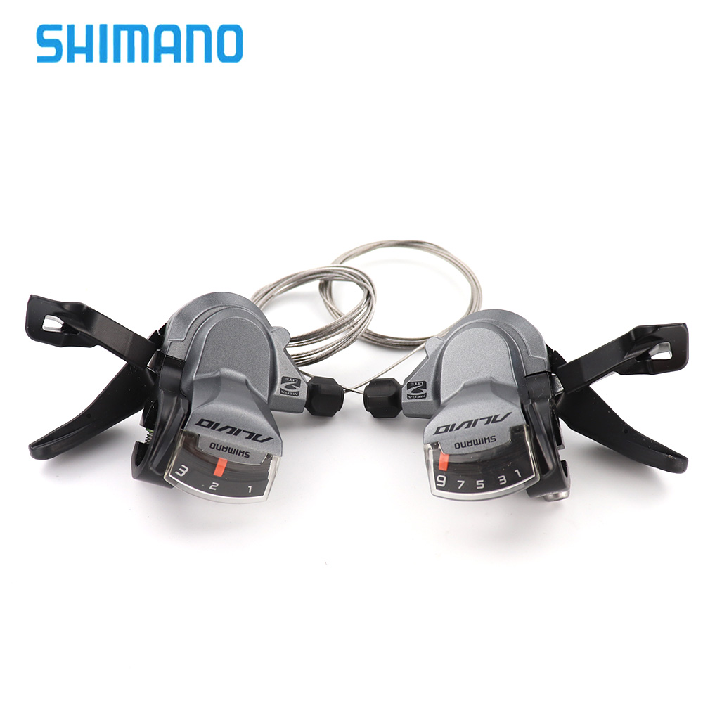 SHIMANO ALIVIO SL M4000 Shifter Lever 3x9S 27 Speed Shifter Lever Trigger With Inner Cables 3s 9s Options