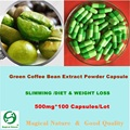GREEN COFFEE BEAN EXTRACT - STRONGEST LEGAL SLIMMING  & WEIGHT LOSS  500mg*100 CAPS