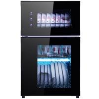 100L Electronic Dish Dryer UV Sterilizer Cabinet Tableware High Temperature Disinfection Cabinet Fruit Vegetable Detoxification
