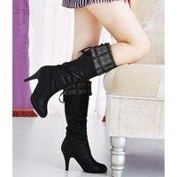 4 новое поступление классические высокие каблуки прохладно сексуальные пип-ноги шнуровкой обувь лето 4
