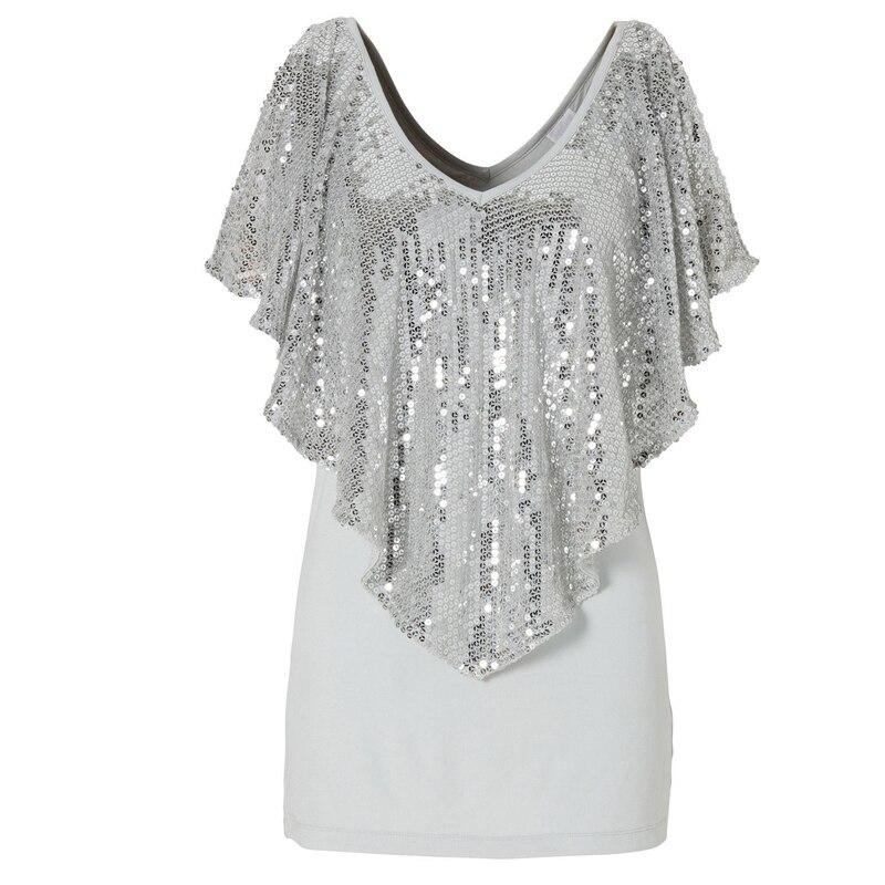 Aliexpress.com : Buy Sequin Top Tees T shirts For Women Kawaii T ...