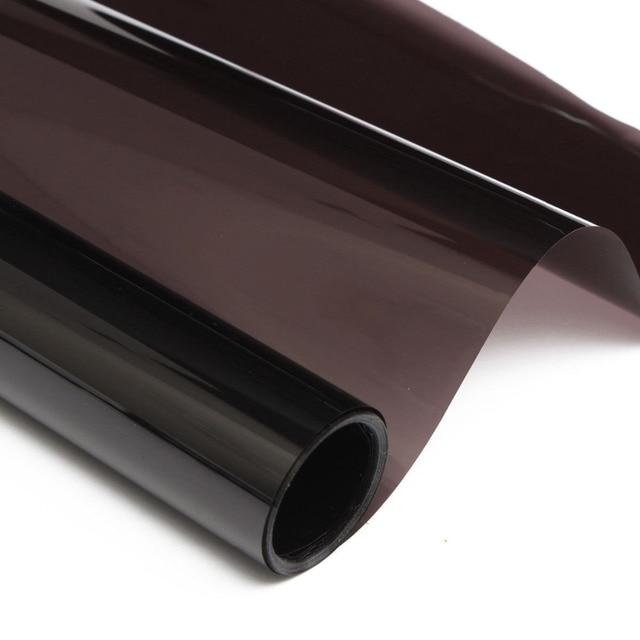 "20 ""x20FT Humo Medium Negro VLT 20% Auto Car Window Tint Film Rollo de La Casa 50 cm * 6 M"