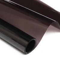 20 X20FT Medium Smoke Black Window Tint Film VLT 20 Auto Car House Roll 50cm 6M