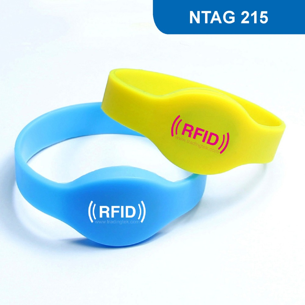 WB01 RFID Wristband for Access Control NFC Bracelet Tag ISO 14443A,13.56MHz 504BYTES R/W with NTAG 215 Chip Free Shipping wb01 hot sales silicone rfid wristband for access control nfc bracelet iso14443a 13 56mhz with m1 s50 chip free shipping