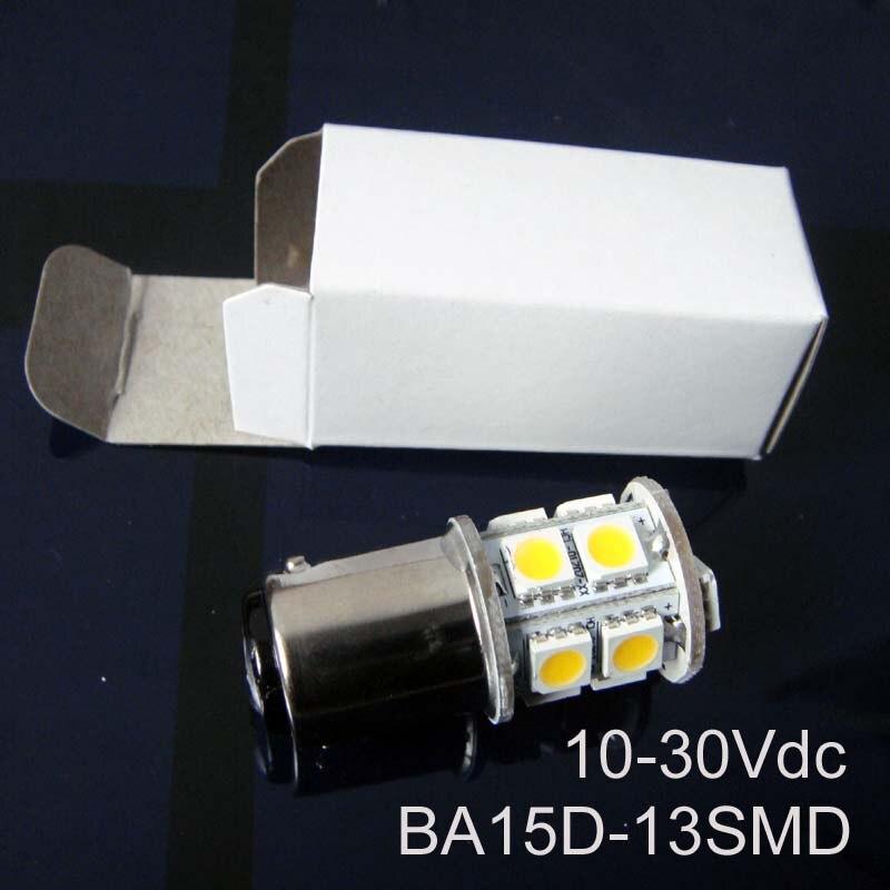 High quality 12/24VAC/DC 2.5W BA15d led Yacht Boat Ship lamps,1142 24V Led Warning Signal Light bulbs free shipping 10pcs/lot