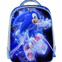 13 дюймов Рюкзак Марио детей мультфильм Sonic рюкзаки мальчиков девочек школьный ранец для детского сада ежедневно рюкзак дети BookBag