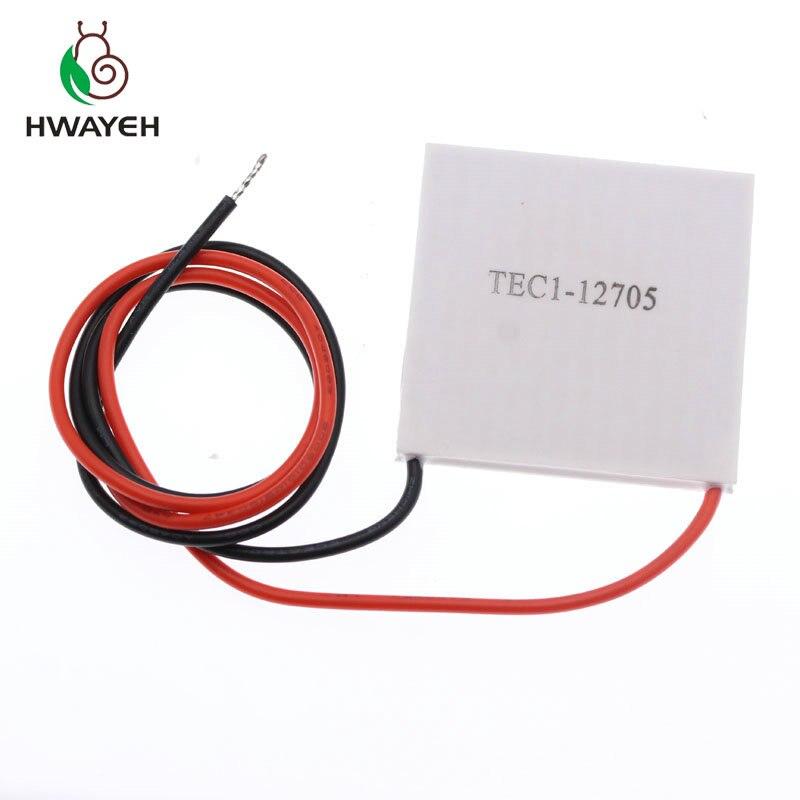 1PCS  TEC1-12705  Thermoelectric Cooler Peltier 12705 12V 5A Cells, TEC12705 Peltier Elemente Module