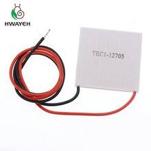 1Pcs TEC1 12705 Thermo elektrische Koeler Peltier 12705 12V 5A Cellen, TEC12705 Peltier Elemente Module