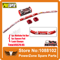 "Pro Taper Fat Bar 1-1/8"" Red Metal Mulisha Pac MotorCross Fat Bar MX Aluminum Mad Racing Handlebar 810mm FREE SHIPPING"