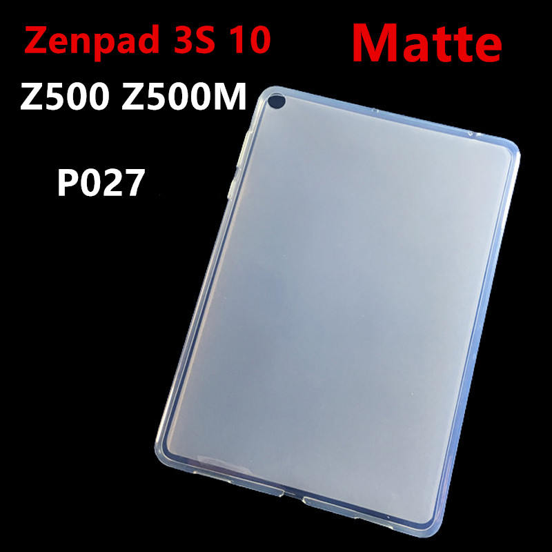все цены на Zenpad 3 S 10 Matte Soft TPU Silicone Back Cover Case For Asus ZenPad 3S 10 9.7'' Z500M Z500 P027 tablet case Protective shell онлайн