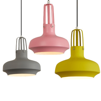 Post-modern Denmark Designer Loft Aluminum E27 Pendant Light For Dining Room Bar Living Room Dia 25/35/45cm 1501