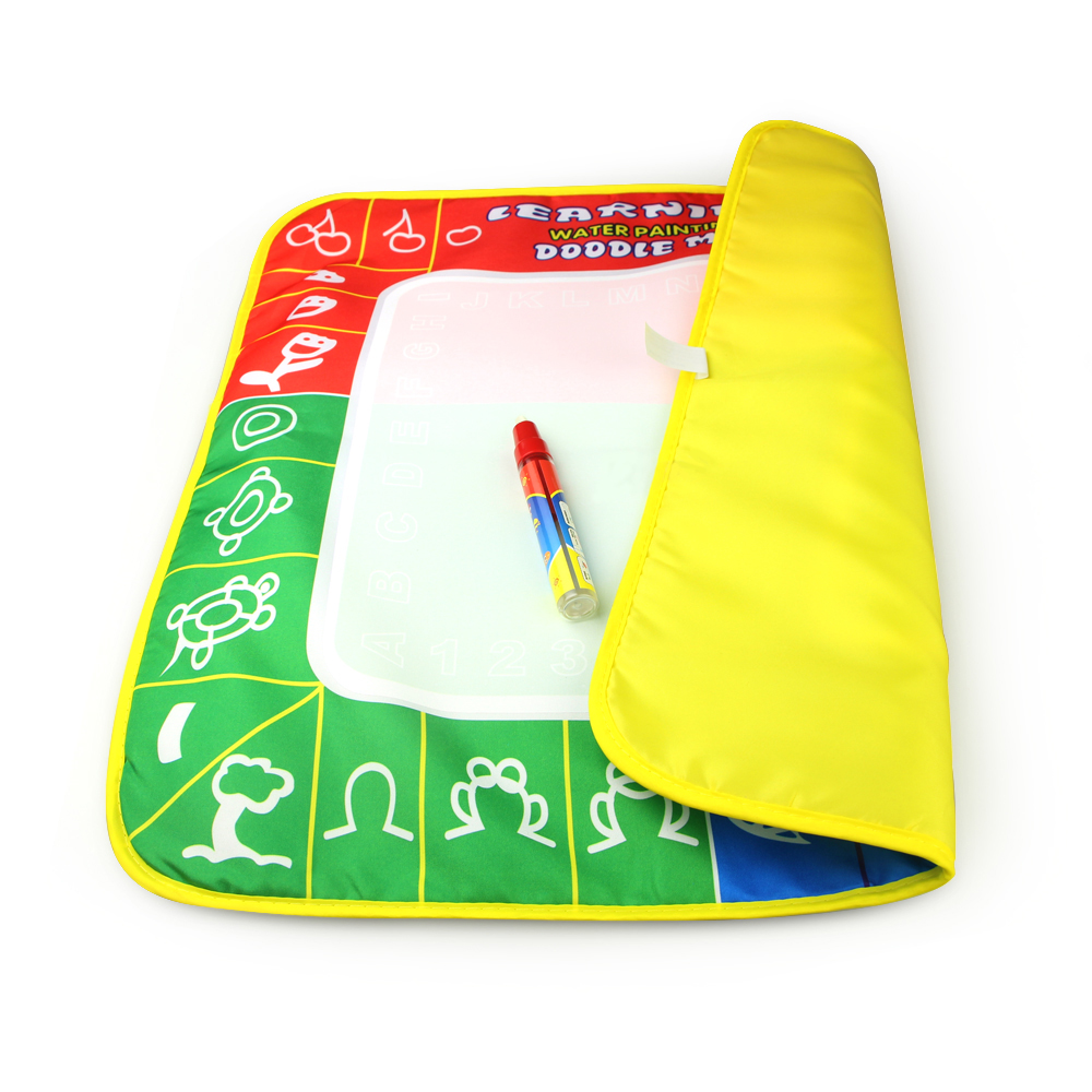 1 Pcs 49X48cm 3 Color Magic Water Drawing Mat With 1 Magie Pen for Kids