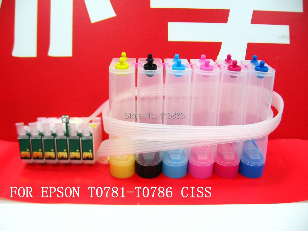 78 ink cartridge ciss continuous ink supply system for epson R380 R260 RX580 R280 RX595 R680 Artisan 50 Sprinter auto reset chip78 ink cartridge ciss continuous ink supply system for epson R380 R260 RX580 R280 RX595 R680 Artisan 50 Sprinter auto reset chip