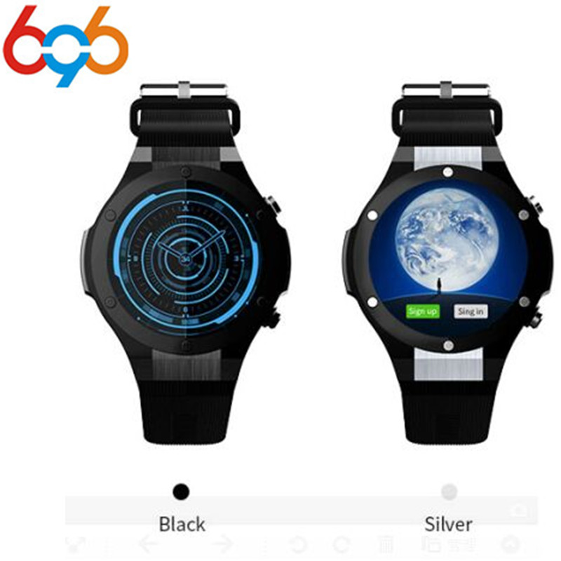 696 H2 Newest Bluetooth Smart Watch MTK6580 ROM RAM 16GB 1GB 5MP Camera Heart Rate Smartwatch GPS WIFI 3G Smart Wristwatch songku s99b 3g quad core 8gb rom android 5 1 smart watch with 5 0 mp camera gps wifi bluetooth v4 0 pedometer heart rate