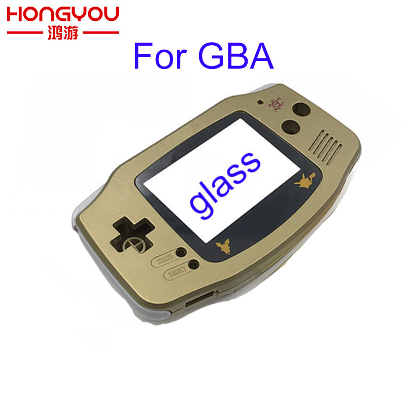 5PCS Gold Full Set Housing Shell Case Cover Frame Repair Parts For Nintendo For GameBoy Advance