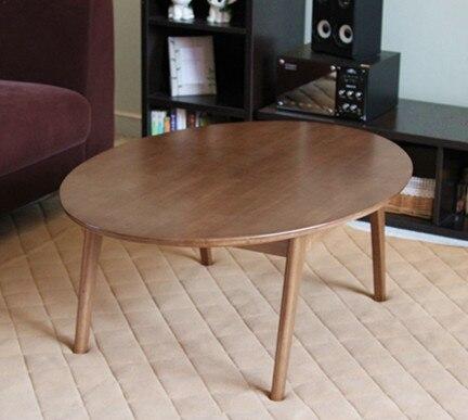 Japanischen Kotatsu Holz Couchtisch Design Möbel Wohnzimmer Oval105cm Boden  Japanischen Niedrigen Tisch Fußwärmer Beheizte Kotatsu