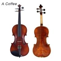 اليدوية الكمان عالية الجودة المهنية الدرجات اختبار ل الطفل أو الكبار المبتدئين Violino 1/4 1/2 Violinos عالية الجودة الخشب|handmade violin|quality violinviolin handmade -