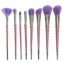 Beauty Girl Hot Professional 8PCS  Make Up Foundation Eyebrow Eyeliner Blush Cosmetic Concealer Brushes Dec.9