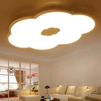 Flaky clouds Led ultra-thin ceiling light modern simple cloud lamp Children room creative living room study light ZL187