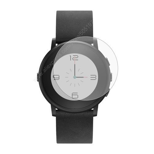 Anti Glare Matte Film Guard for Pebbl e Time Round font b Smart b font Watch