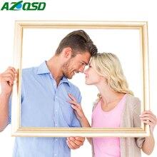 Azqsd 5D алмазная картина Полная площадь фото на заказ DIY Алмазная вышивка по фотораспродажа круглая картина из страз ручной работы подарок