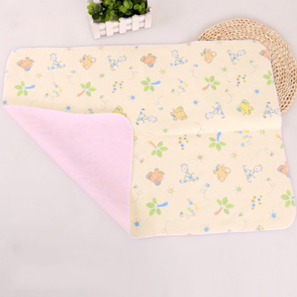 Portable Baby Waterproof Sheet Urine Changing Pads Foldable Washable Reusable Infant Bedding Nappy Changing Mat