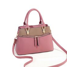 Fashion PU Leather Women Shoulder Bag Female Causal Totes for Daily Shopping All-Purpose High Quality Dames Handbag fashion new large and cheap women bag high quality pu leather female shoulder bag vintage brown solid handbag for shopping daily