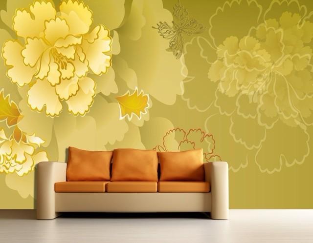 Wallpaper For Living Room 2013 online shop 2013hotmaterial factory large mural bedroom background