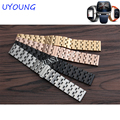 Feitong New Luxury Replacement Watch Band Full Stainless Steel Quick Release Watch Band Strap for ASUS ZenWatch 2 WI501Q