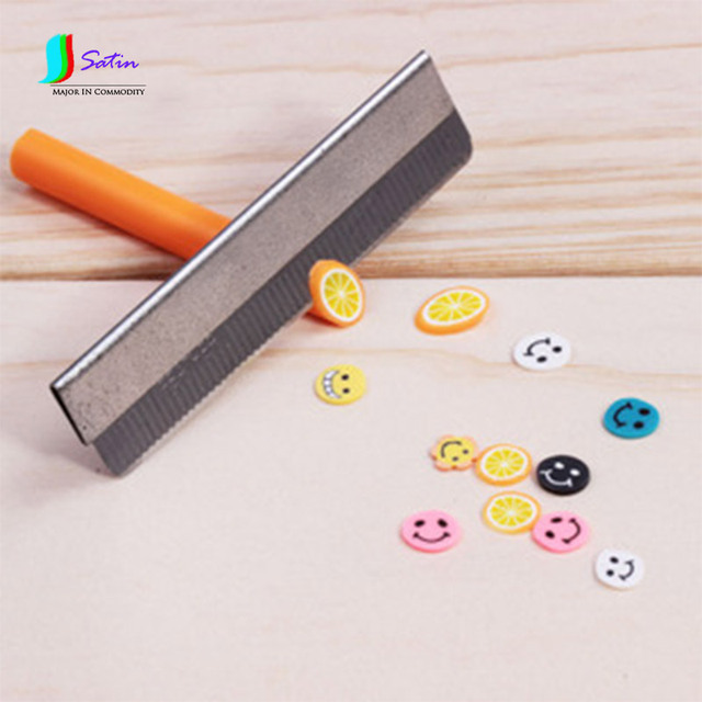 Stainless Steel Cutting Blades Short Cutter Diy Fimo Polymer Clay