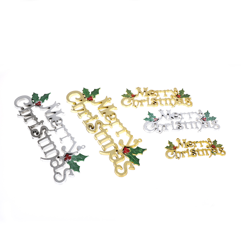 1PCS christmas decorations Merry Christmas word door ...