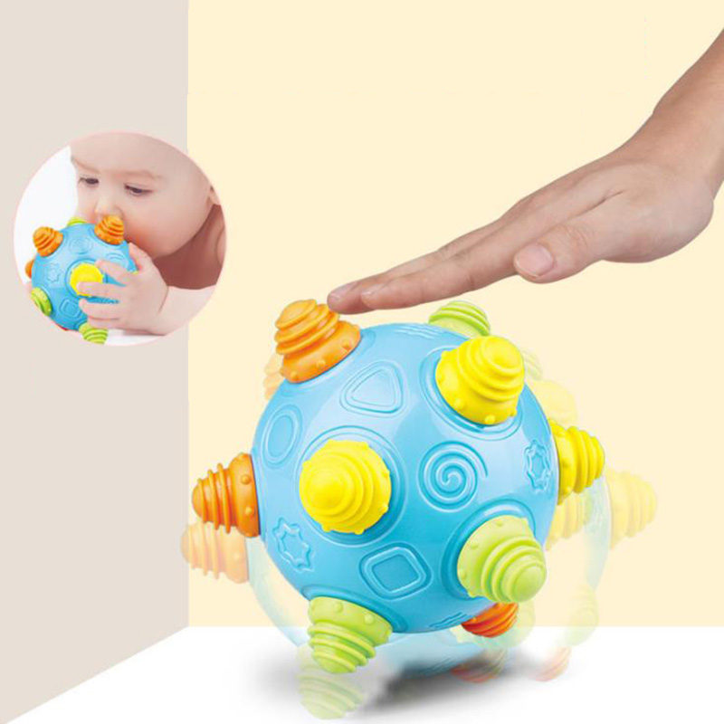 Children's Enlightenment Educational Toys Baby Toys Music Vibration Dancing Ball Jumping Ball Vibration Toy Ball ABS Material
