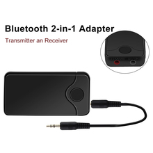 JEDX 2018 NEW B18 2in 1 Bluetooth Transmitter & Receiver Wireless A2DP for TV Stereo Audio Adapter