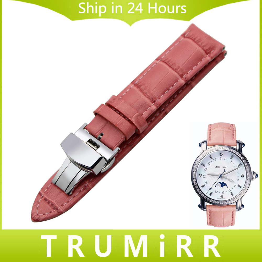 Genuine Leather Watchband for Maurice Lacroix Women Men Watch Band Wrist Strap Colorful Bracelet 18mm 19mm 20mm 21mm 22mm 24mm replacement cowhide leather common watchband 18mm 19mm 20mm 21mm 22mm men wristwatch band bracelet promotion free tools diy hot
