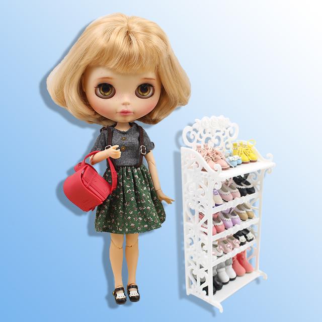 Blythe Doll Shelf Shoe Rack