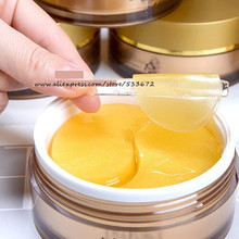 60PCS Nasolabial Folds Fine Line Remove Mask Original Anti Wrinkle Anti Aging Gold Foil Forehead Lifting