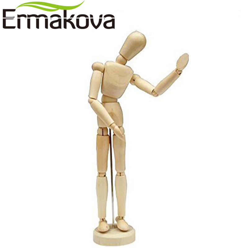 Wooden Human & Hand Model Set 1