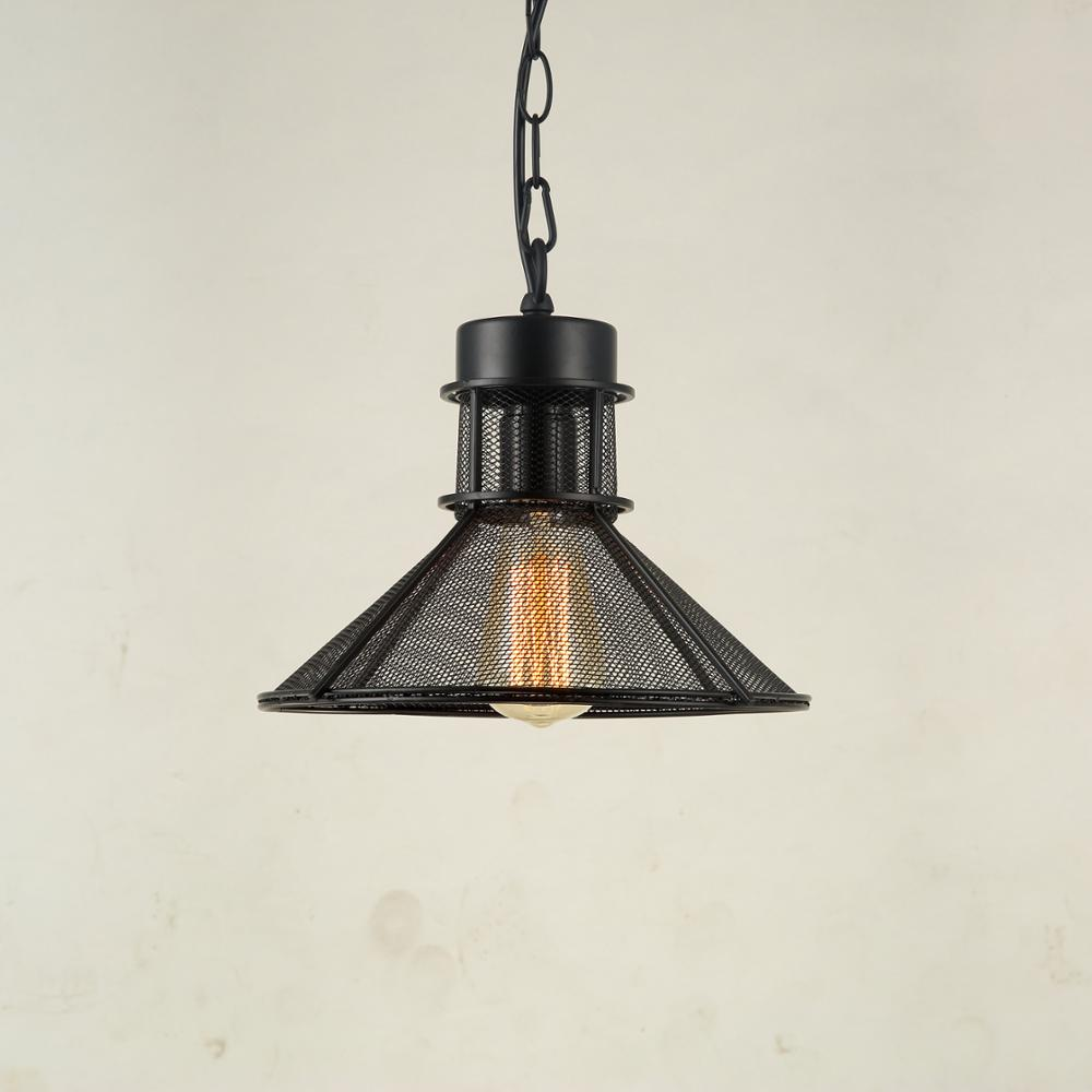 Illuminating Kitchen Lighting: American Style Umbrella Grid Pendant Lamp E27 Lighting