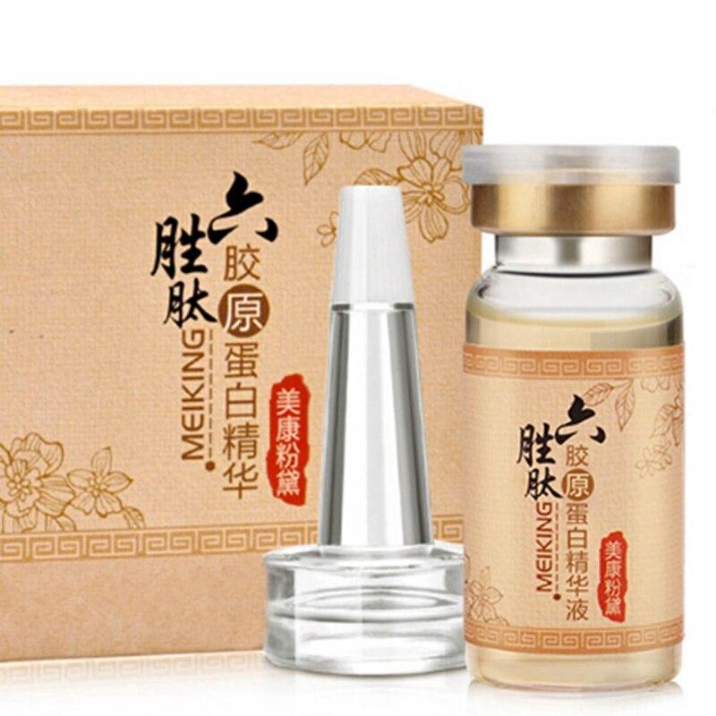 collagen protein anti wrinkle aging moisturizing whitening lifting face skin repair essence liquid facial serum 10ml