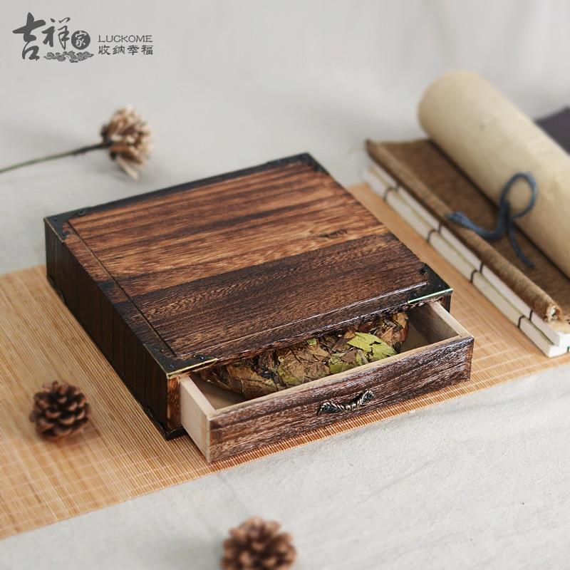Japanese Wooden Storange Case Solid Wood Storage Drawers Quality Puer Tea Box Gift Packaging Handmade pu er Tea Set Wholesale-in Storage Drawers from Home ... & Japanese Wooden Storange Case Solid Wood Storage Drawers Quality ... Aboutintivar.Com