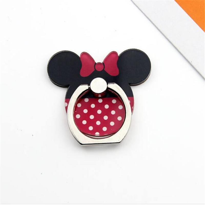 New Arrival Mobile Phone Holder Metal Finger Ring Holder Cute Cartoon Phone Ring Holder Cartoon Mouse Baby Phone Stand Support