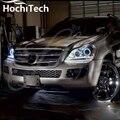 Отличные SMD 5050 СВЕТОДИОДНЫХ белый фар halo angel demon eyes комплект для Mercedes-Benz GL-Class X164 GL450 2007-2012