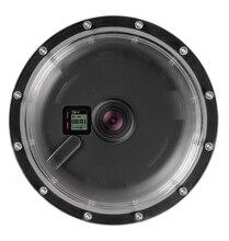 SOONSUN 6″ Aluminum Alloy 45M Underwater Diving Camera Lens Dome Port Shell Cover for GoPro Hero 4 3+ 3