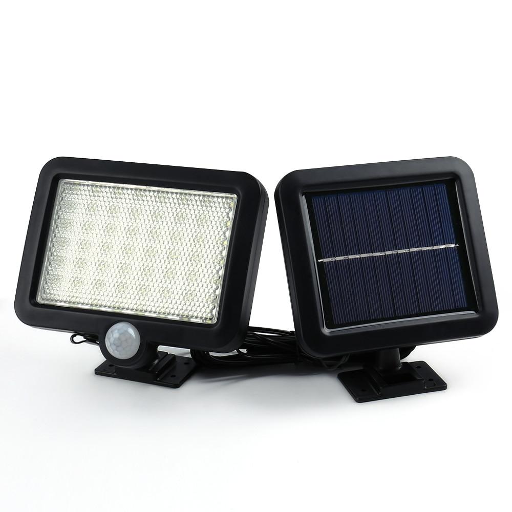 2017 Hot Selling Solar <font><b>Led</b></font> Powered Garden Lawn Lights Outdoor Infrared Sensor Light 56 <font><b>LED</b></font> Solar <font><b>Motion</b></font> Detection Wall Light