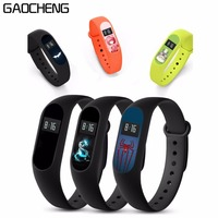 GAOCHENG 30 Pcs/Lot Colorful Screen Protector For Xiaomi Mi Band 2 Smart Wristband Bracelet Protective Film Guard For MiBand 2