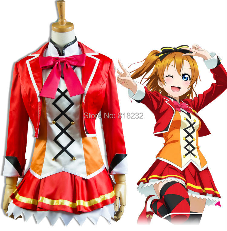 Здесь продается  Lovelive! Love Live Kousaka Honoka Dance Dress Uniform Outfit Cosplay Costumes  Одежда и аксессуары
