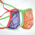 Hot MEN STRING POSING POUCH Thong C-thru Spider Net G3679 Push forward