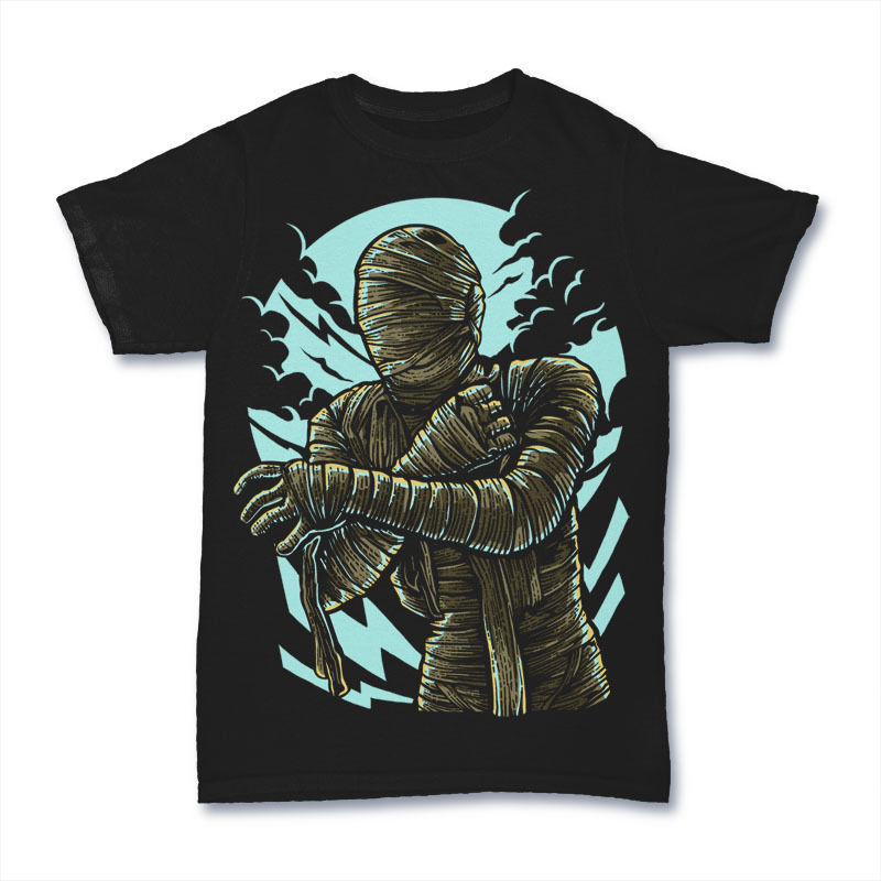 THE MUMMY dtg mens t shirt tees new 2017New T Shirts Funny Tops Tee New Unisex Tshirt Homme Fashion Classic